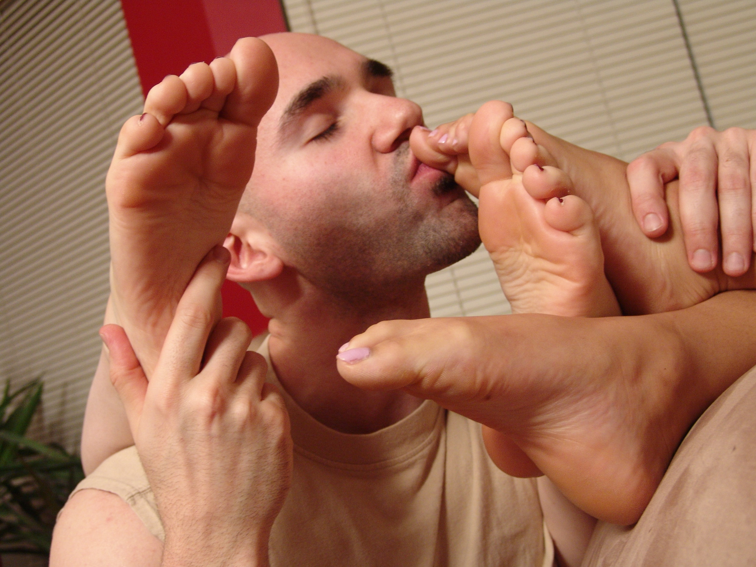 Gay foot sex